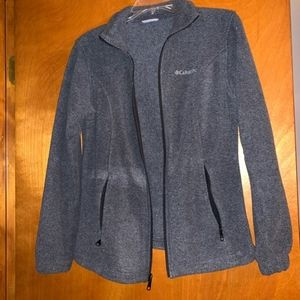 Columbia fleece jacket size small